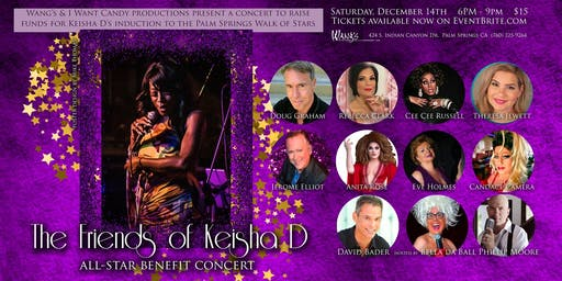 The Friends of Keisha D All Star Benefit Concert