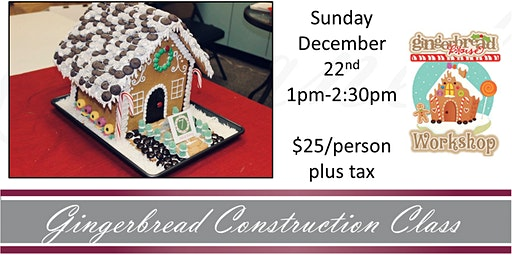 Gingerbread Construction Class with Erik