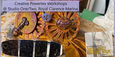 Powertex Taster Workshops at Studio One - Decorative Jars [£10] or [£15]