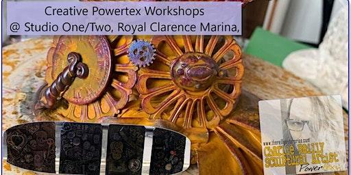 Powertex Taster Workshops at Studio One - Decorative Jars [£10] or [£15]