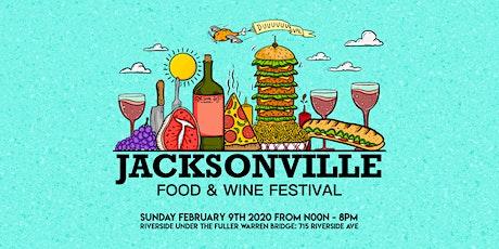 Jacksonville Food & Wine Festival tickets
