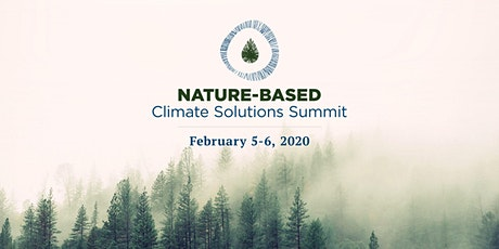 Nature-Based Climate Solutions Summit tickets