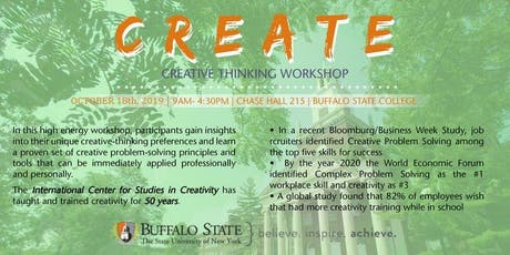 Creative Thinking Tools Workshop April 3, 2020 tickets