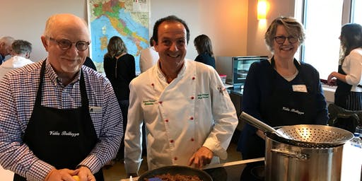 Easter Family Dinner Italian-Style Cooking Class with Chef Antonio Cecconi