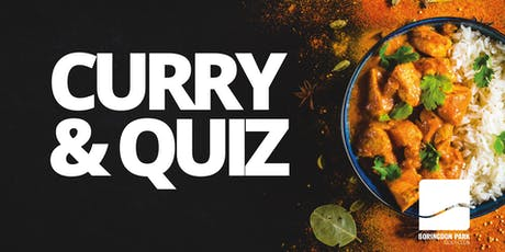 Curry and Quiz Night tickets