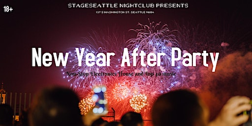 18+ New Year's AfterParty at Stage Seattle