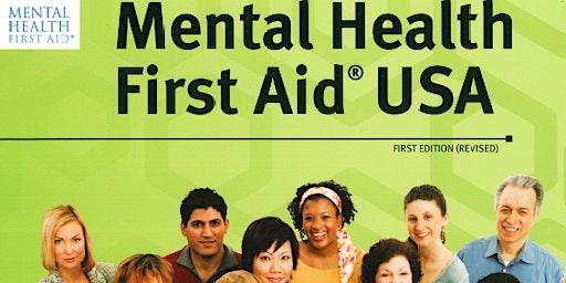 Mental Health First Aid (Adult, Basic) 8CEU course