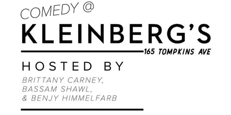 comedy at kleinbergs december tickets