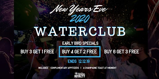 NEW YEARS EVE AT WATERCLUB 2020