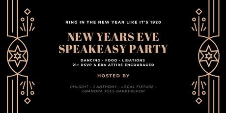 NYE PARTY by Phlight, J Anthony, Local Fixture & Grandpa Joes Barbershop tickets