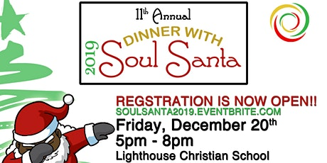 Dinner with Soul Santa 2019 tickets