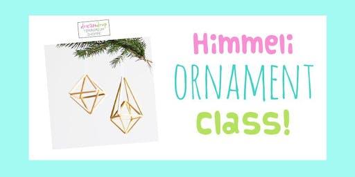 Himmeli Ornament Class!