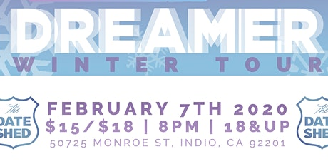 2020 Dreamer - Winter Tour with Special Guests Nattali Rize and Jason J tickets