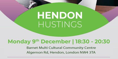 Hendon Hustings tickets