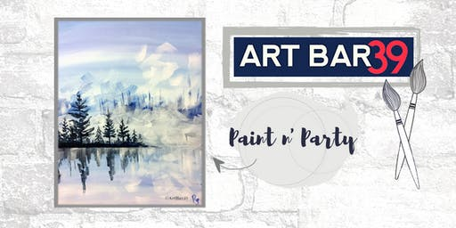 Paint & Sip | ART BAR 39 | Public Event | Frozen Lake