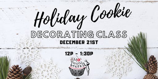 Holiday Cookie Decorating Class