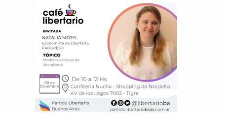 Café Libertario- con Natalia Motyl entradas