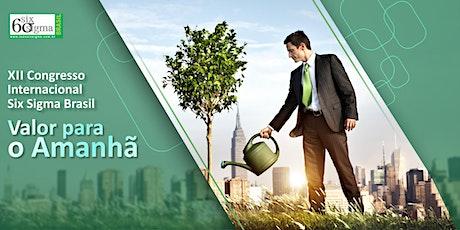 XII Congresso Internacional Six Sigma Brasil ingressos