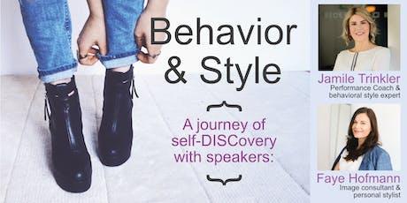 Behavior & Style Workshop Tickets