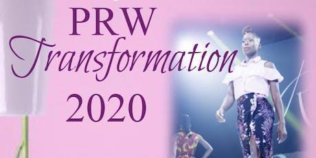 PRW Transformation 2020 tickets