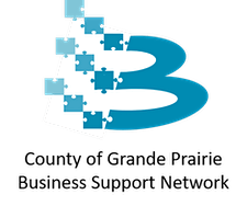 County of Grande Prairie Business Support Network logo