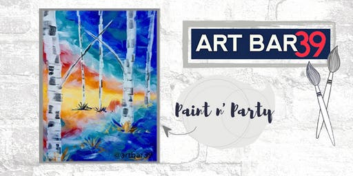 Paint & Sip | ART BAR 39 | Public Event | Forest of Color