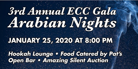 3rd Annual ECC Gala - Arabian Nights! tickets