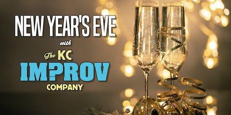 New Year's Eve w/ The KC Improv Company tickets