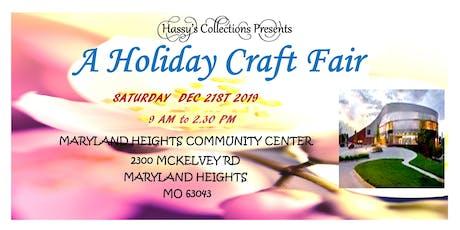 A Holiday Craft Fair tickets