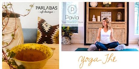 Yoga-Thé avec Pavla billets