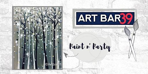 Paint & Sip | ART BAR 39 | Public Event | Sparkling Woods