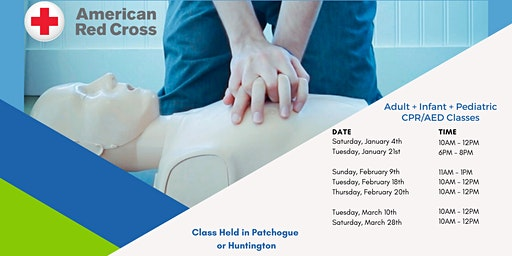 Infant/Pediatric CPR/AED (Blended Learning)
