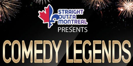 Montreal Stand Up Comedy ( Comedy Legends ) billets