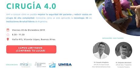 CIRUGÍA 4.0 - Nuevas tecnologías para cirugía de alta complejidad entradas