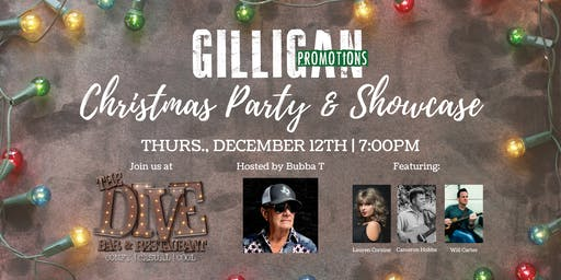 Gilligan Promotions Christmas Party & Showcase