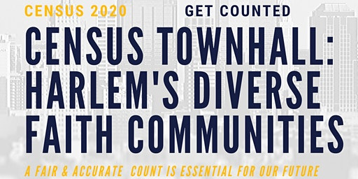 Census Town Hall: Harlem's Diverse Faith Communities