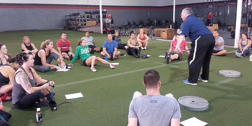Crossfit Murdock Cohen Weightlifting Seminar