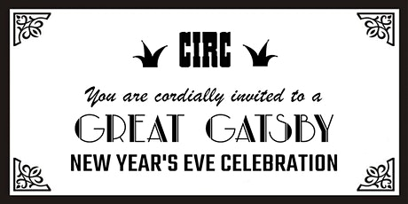 Great Gatsby New Year's Eve Celebration tickets