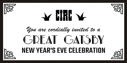 Great Gatsby New Year's Eve Celebration