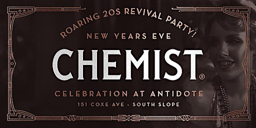 Roaring 20s Revival Party!  |  NYE @ Antidote Cocktail Lounge