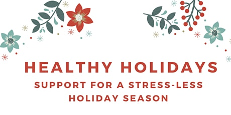 Parent Cafe - Healthy Holidays tickets