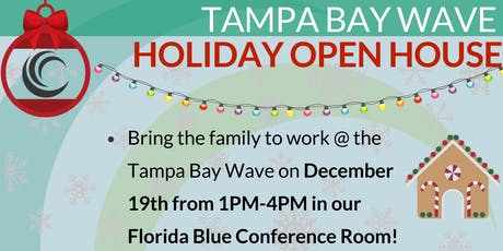 Holiday Open House - Tampa Bay Wave tickets