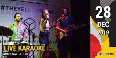 Live Karaoke - The Yellow Bar