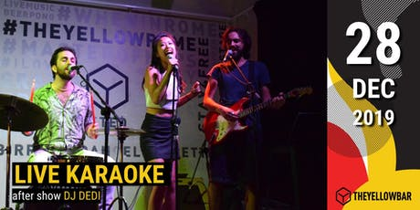 Live Karaoke - The Yellow Bar biglietti