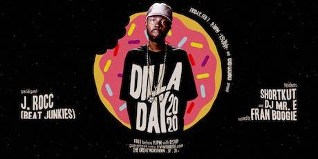 Dilla Day 2020 w/ J. Rocc tickets
