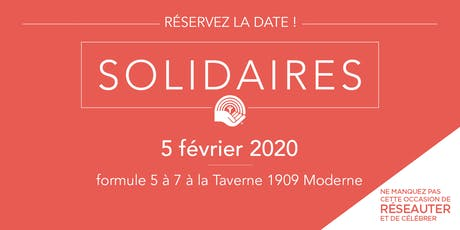 Soirée des Solidaires 2020 tickets