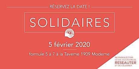 Soirée des Solidaires 2020 billets