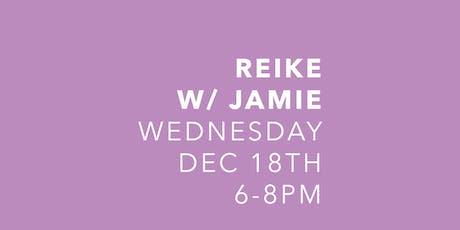 Reiki with Jamie Sabat tickets