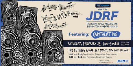 A Benefit for JDRF featuring Capitalist Pig tickets
