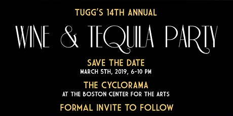 TUGG's 2020 Wine & Tequila Party tickets